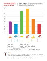 Here's a series of handouts for students to practice creating bar graphs.