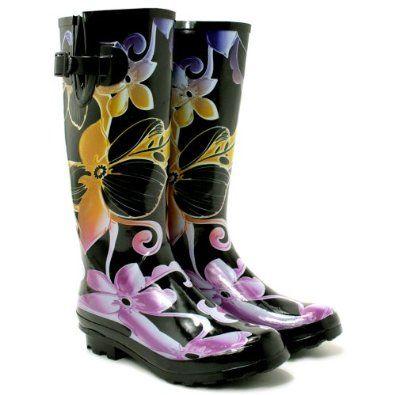 Spy Love Buy Womens Festival Wellies Wellingtons Boots `Savannah`