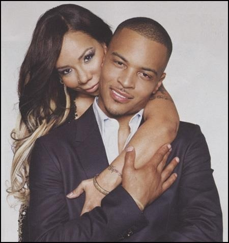 T.I. & Tiny...I freakin love this man right here.