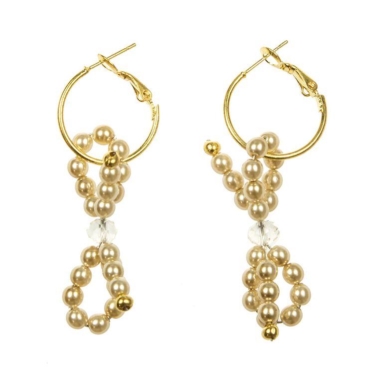Earrings,Bowknot,strik,strik oorbellen,Bowknot earrings,earrings door ChantyJewels op Etsy