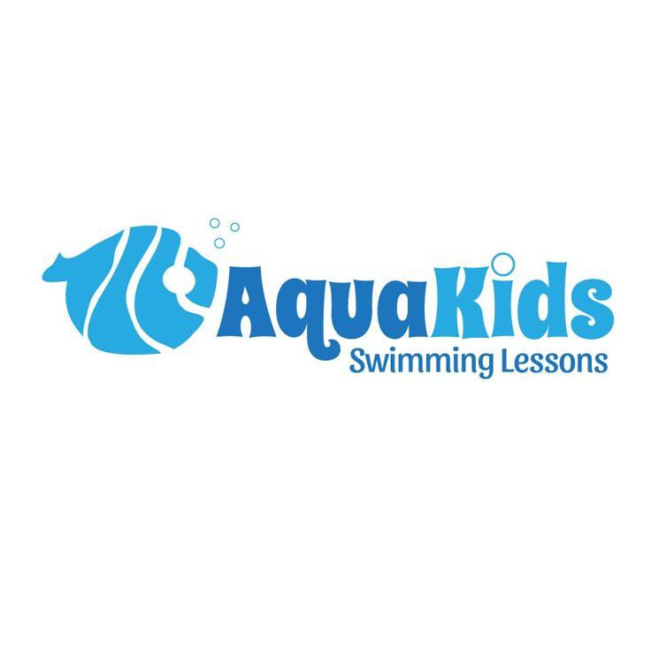 Kids Swim Logo Template 25