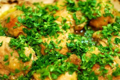David Lebovitz's Super Easy Roast Chicken with Caramelized Shallots (Whole30 Style) | Award-Winning Paleo Recipes | Nom Nom Paleo