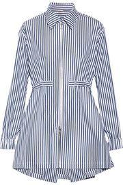 Adam Lippes Striped cotton-poplin shirt $930