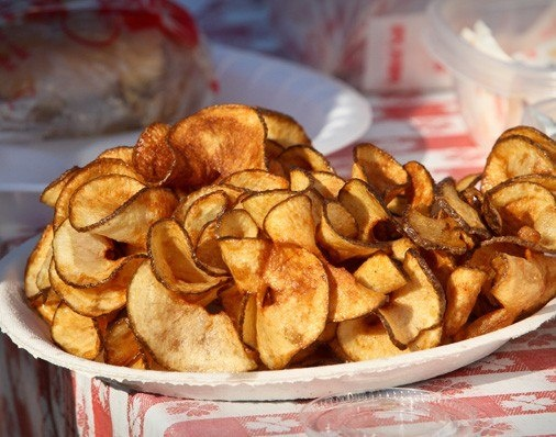 """Our famous grater taters were featured in the Condé Nast Traveler's article """"9 State Fair Foods that Will Make You Proud To Be an American (Maybe)"""""""