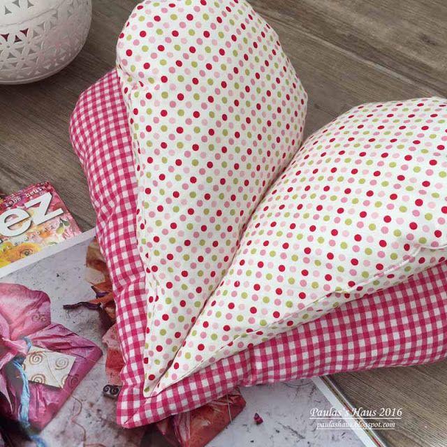 65 best Leseherz waseigenes.com | heart pillow images on Pinterest ...