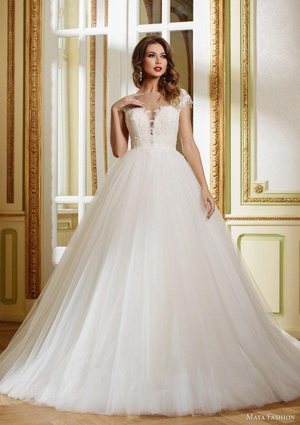 Maya Fashion 2015 Wedding Dresses — Royal Bridal Collection   Wedding Inspirasi