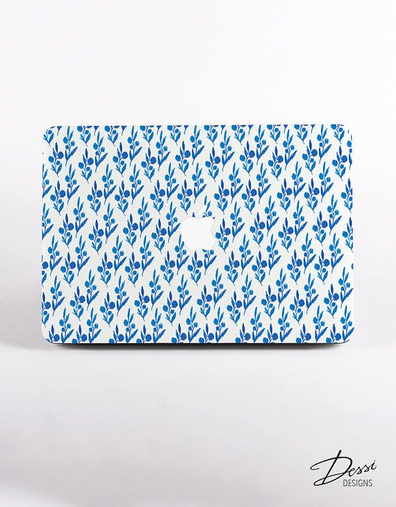 China Porcelain Hand Drawn Hard Plastic MacBook Case Design for MacBook Pro Retina Display and MacBook Air Case