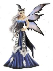 Amy Brown Winter Queen Fairy Figurine
