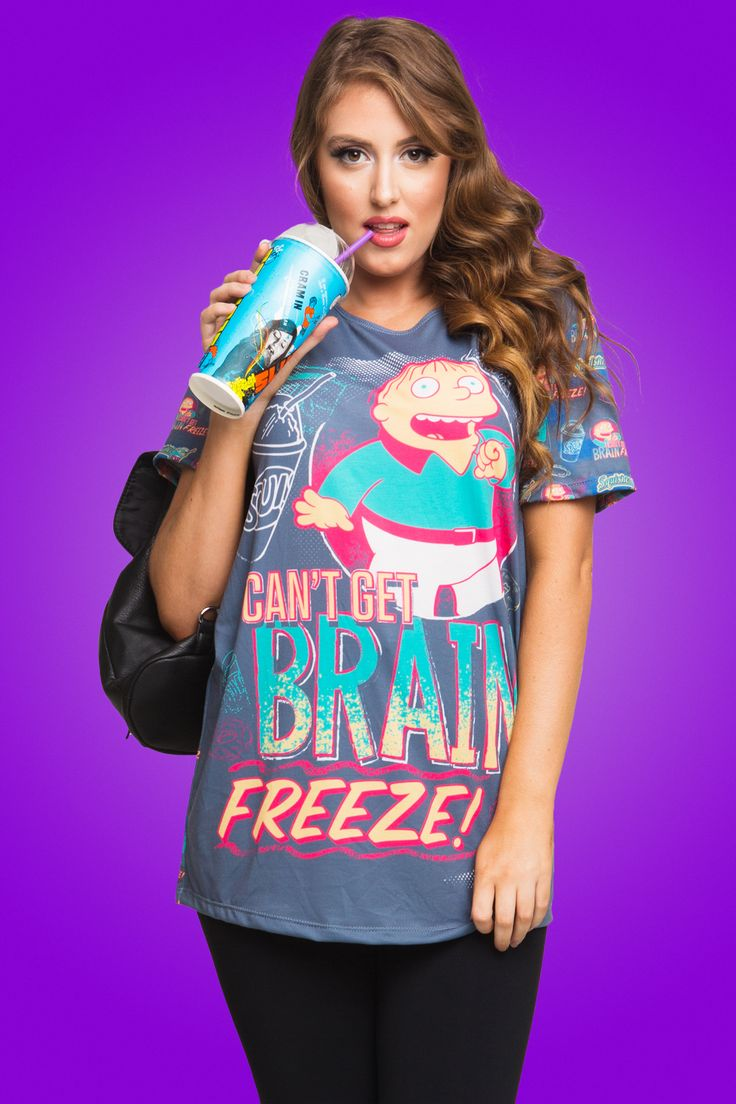 I Can't Get A Brain Freeze Tee $50.00 AUD