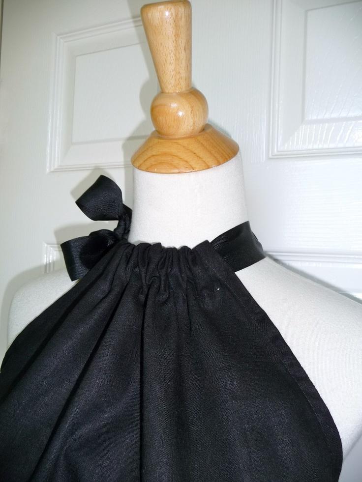 DIY KIT - Women - Pillowcase Dress - Black Linen and Cotton - Pick the size & 84 best images about DIY Clothes on Pinterest | Diy dress Cherry ... pillowsntoast.com