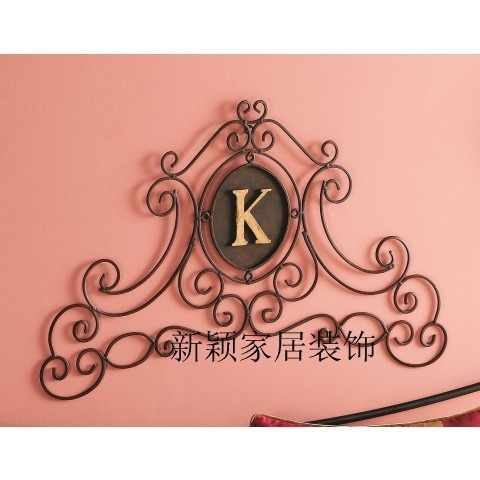 Wrought iron with letter k google search k s a m for Shoulder decoration 9 letters