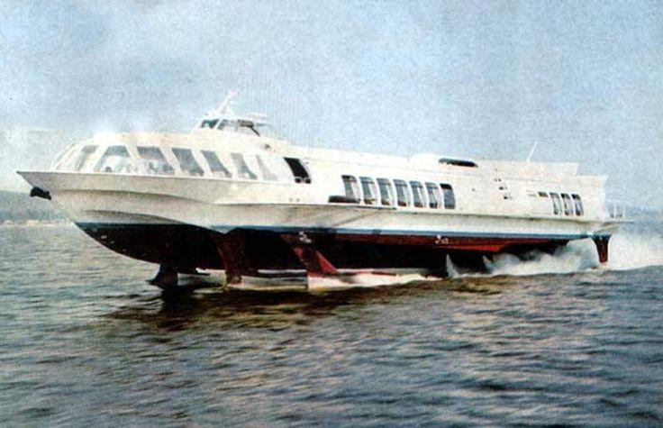 """Суда на подводных крыльях (""""Ракеты"""", """"Метеоры"""" и прочие) — DRIVE2"""