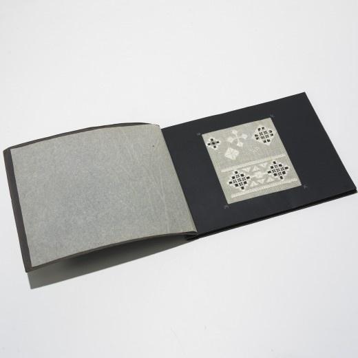 Wiener Werkstätte lace sample book