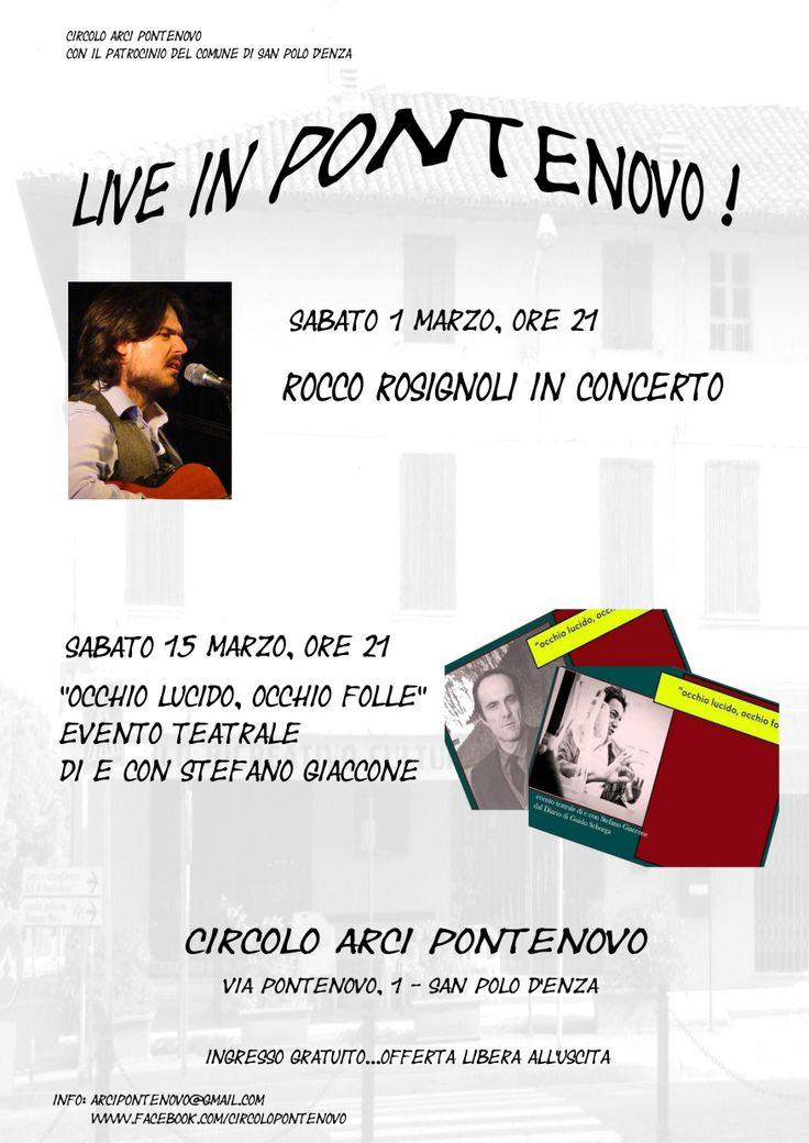 #roccorosignoli #live #sanpolodenza