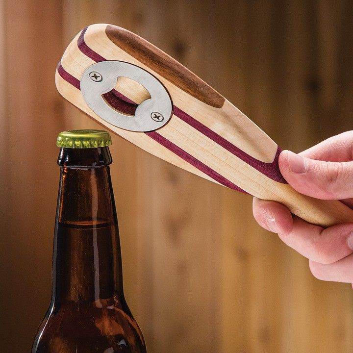 Bottle Opener Inset, turn any project into a unique bottle opener. - This would make a great Grooms Party Gift!
