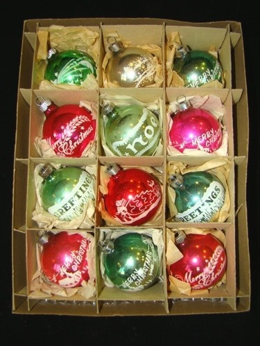108 best Shiny and Brite images on Pinterest | Vintage christmas ...