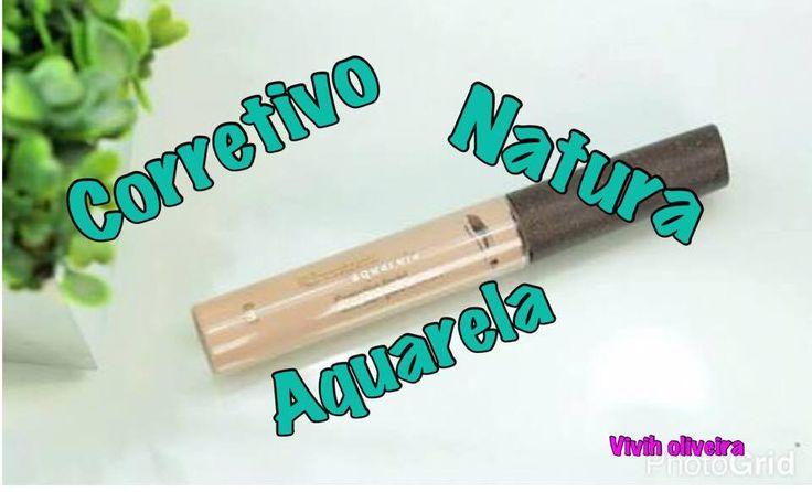Resenha -Corretivo Natura Aquarela