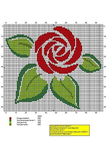 stylized rose