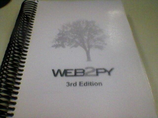 Ebook web2py 3rd edition printed    Pin, Repin
