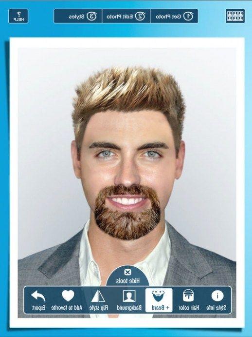 Erstaunlich Frisuren Männer Virtuell