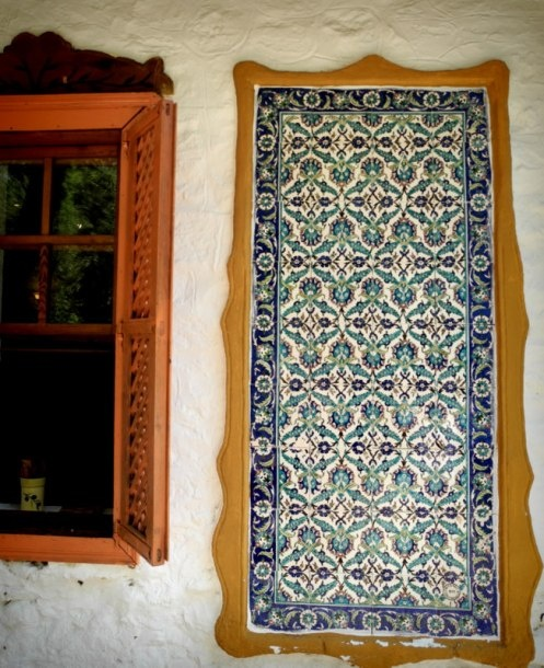 Turkish Çini tiles, Akyaka