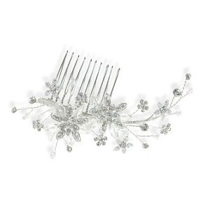Swarovski Crystal Vine Hair Comb from Tiaras and Sparkles