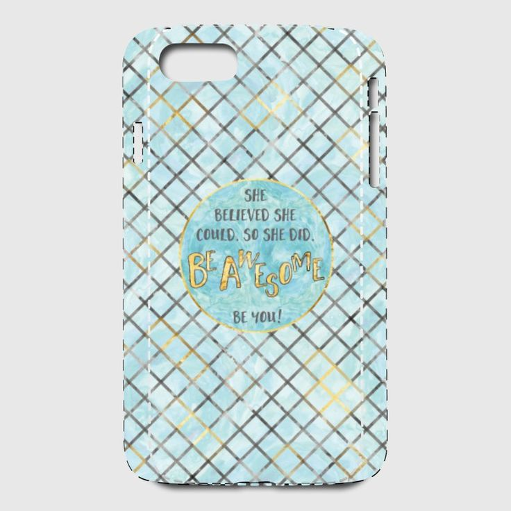 LOTS OF TRENDY MOBILE CASES AVAILABLE AT SPREADSHIRT. #mobile #case #shopping #mobileaccessories #text #textart #modern #pattern #patterndesign #blue #cyan #cyandesign #shebelievedshecouldsoshedid #shebelieved #beyou #beyourself #motivation #motivationalquotes #iphone7 #iphone7case #iphonecase