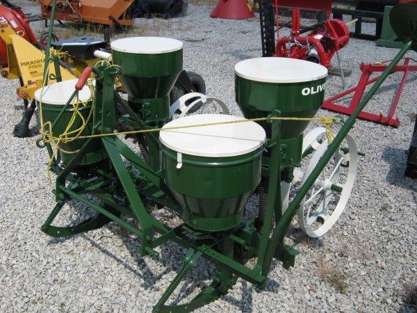 Oliver 312 2 Row Corn Planter Complete Hodges Farm