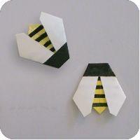 Make-origami.com - origami bee