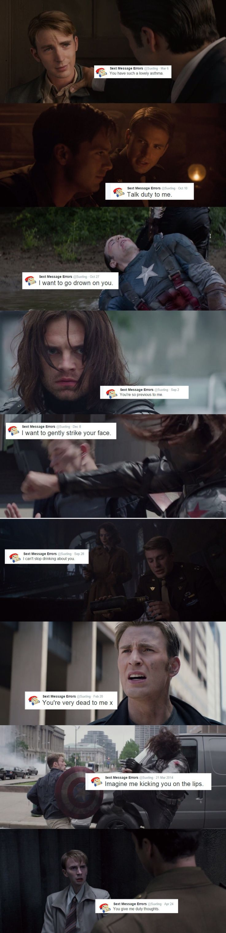 Stucky text post.....I laughed so hard XD