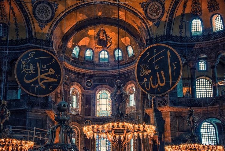 Byzantine architecture by Manjik photography - Photo 185741913 / 500px.  #city #travel #church #europe #istanbul #turkey #tourism #urban #architecture #building #cathedral #mosque #sofia #hagiasophia #islam #basilica #ayasofya #ottoman #byzantine