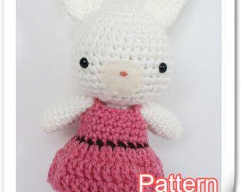 Crochet Amigurumi Twin mignon bébé poupées PDF par AgnesGurumi