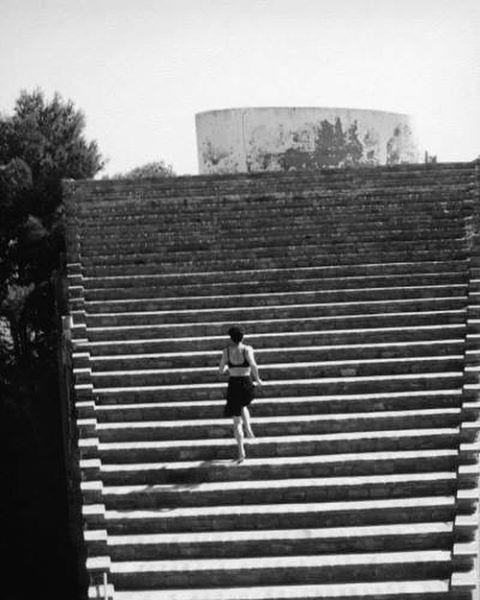 Casa Malaparte, Island of Capri, Italy, built: (1937-1942), renovated: (1980-90). Architect: Adalberto Libera. © Günther Förg. ca 1983