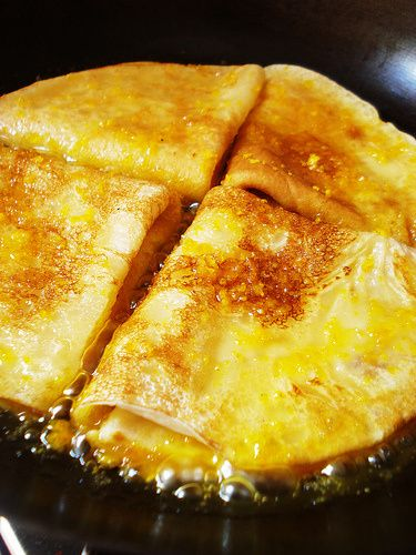Crepes Suzette – for a Princess | Heaven on a Spoon