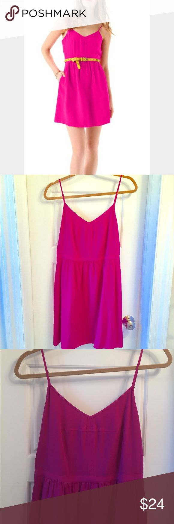 Madewell silk cami dress Great summer dress! In perfect condition - non smoking, no pet home. Measures 26.5 inches from the middle of the front top to hem. Madewell Dresses