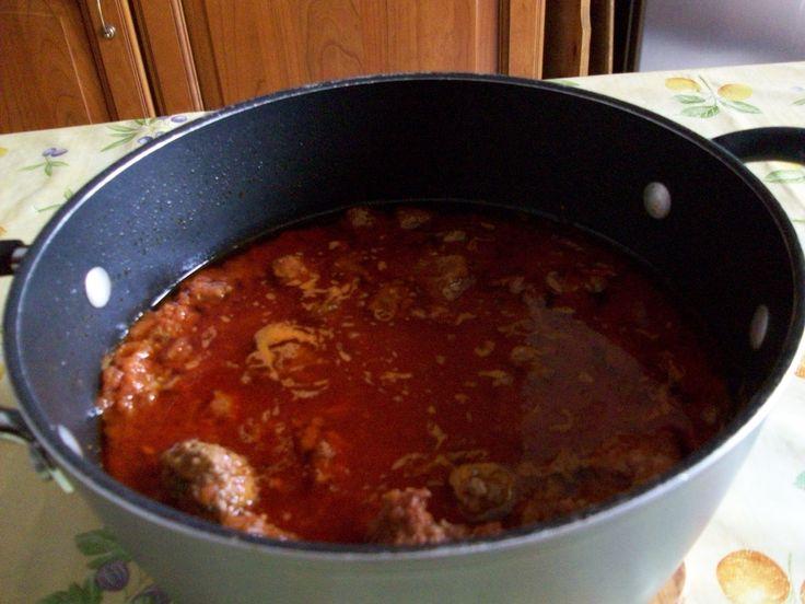 sugo di carne tipo ragù alla bolognese ideale per spaghetti e pasta al forno