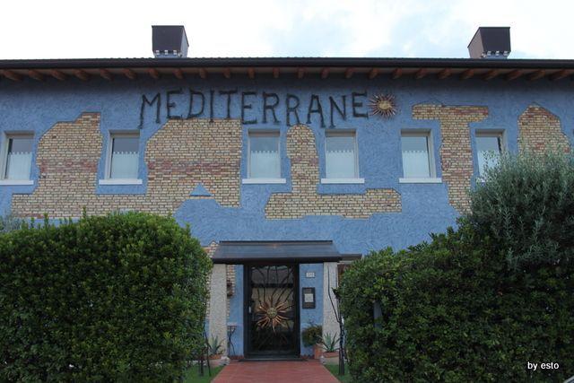 Il Ristorante Mediterraneo.