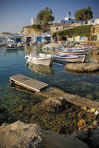 Milos, a greek island.