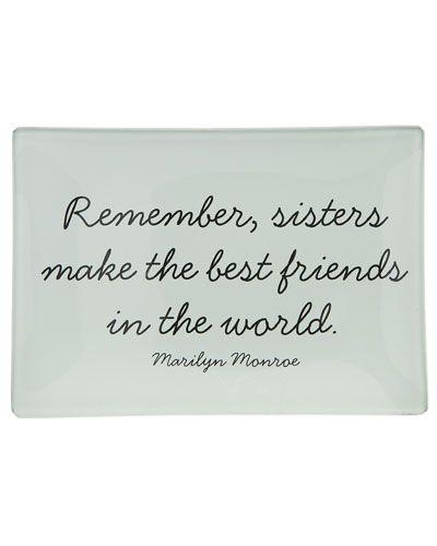 Love my sis!