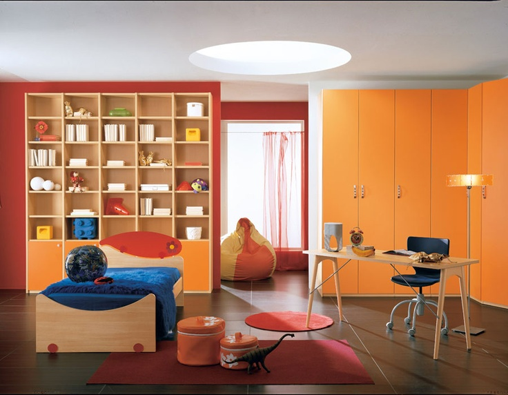 #bedroom #Web: colorful and vibrant, perfect for the little ones.