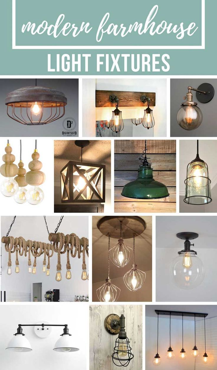 If youre looking to bring your home decor to more of a modern farmhouse style youre going to love all of these farmhouse light fixtures ive rounded up
