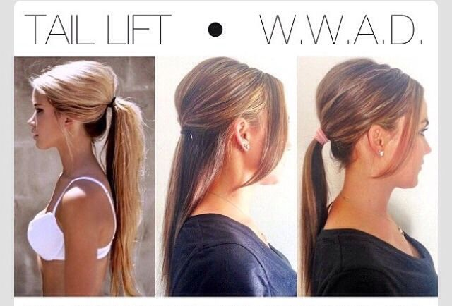Pony Tail Lift Cute amp Super Easy #Musely #Tip