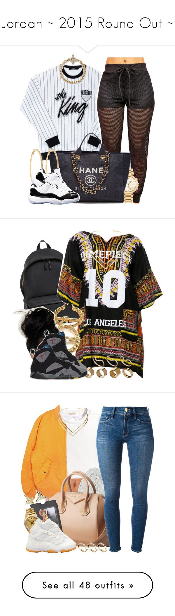 """""""Jordan ~ 2015 Round Out ~"""" by oh-aurora ❤ liked on Polyvore featuring Michael Kors, Chanel, Roberta Chiarella, Concord, Ann Taylor, Givenchy, Dimepiece, Natalie B, RIFLE and Warehouse"""