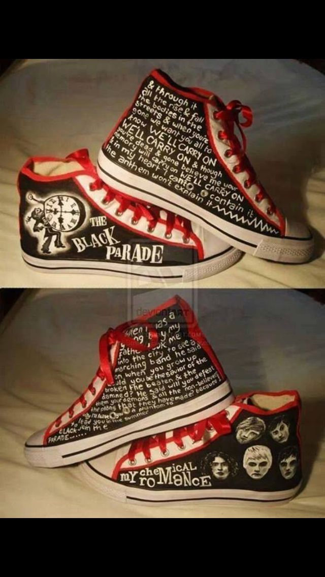 My chemical romance ❤️ I need these!!                                                                                                                                                                                 More