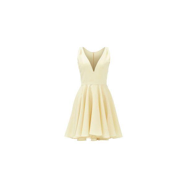 allison parris Purple Marilyn Dress ($40) ❤ liked on Polyvore featuring dresses, purple dresses, beige cocktail dress, beige dress and purple cocktail dresses
