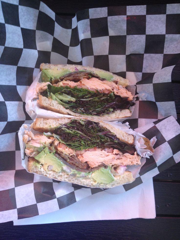 Smoked salmon BLT with avocado | Food and Drinks | Pinterest | Smoked ...