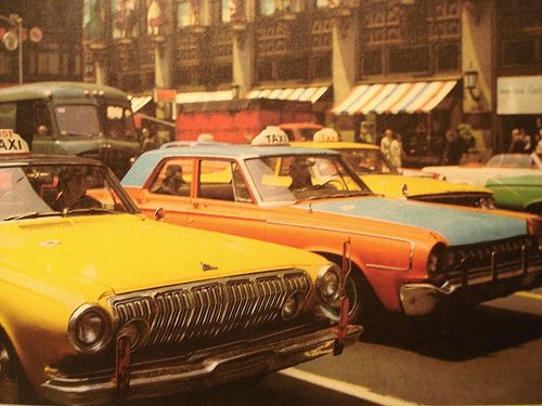 1960's Taxi | Urban Prep: 1960S Nyc, Ears 1960S, Taxi Dreamciti, New York Cities, Google Search, Old School, Nyc Taxi, Early 1960S, 1960S Colors