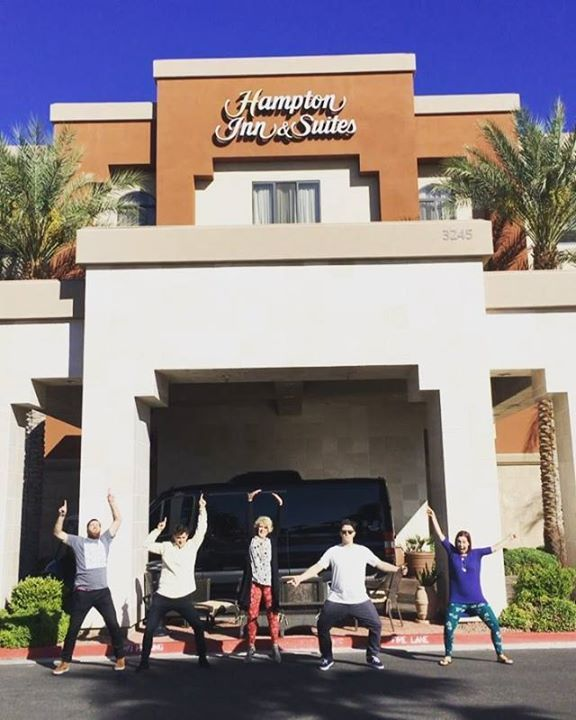 Oh man, holy full circle moment today!!! We had to stop and take a picture today in front of the hotel we had our VERY FIRST Lularoe training at 3 years ago. There was 30 people there total (including home office!), and we all fit into a small little classroom. 😳 Today we did a training for around 1,000 consultants! It still blows my mind to see where we've come from. People ask me where I see Lularoe at in 5 years, and let me tell you, I have NO idea. It's already far surpassed everything…