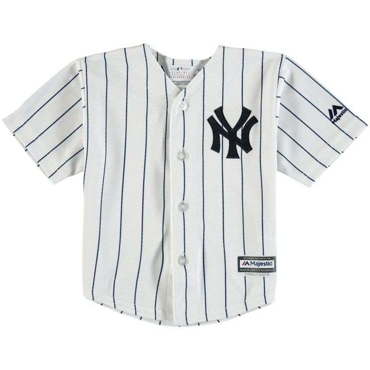 Newborn & Infant New York Yankees White Official Cool Base Jersey