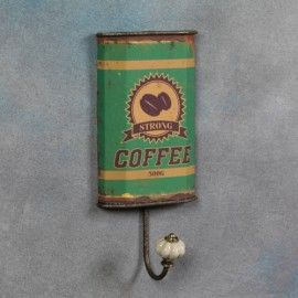 Vintage antique style tea and Coffee Wall Hook